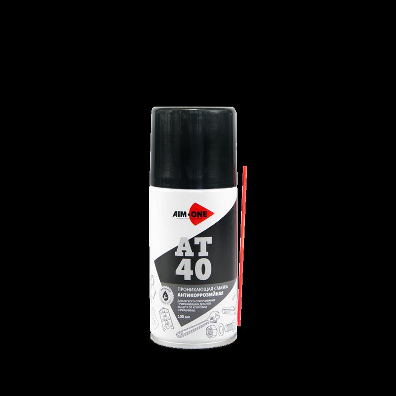 AIM-ONE Проникаюшая смазка антикорроз.AT-40 (аэроз) 100мл