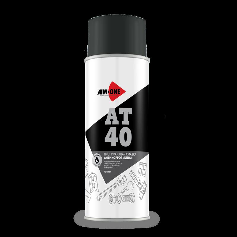 AIM-ONE Проникаюшая смазка антикорроз.AT-40 (аэроз) 450мл