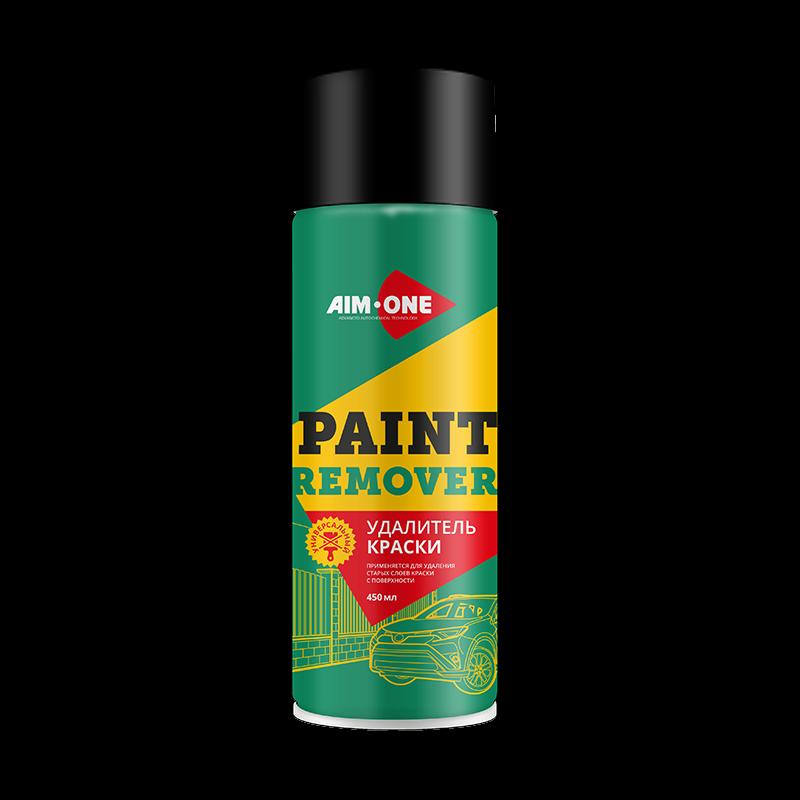 AIM-ONE Удалитель краски (аэроз) 450мл